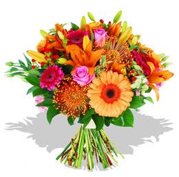 Türkiye online çiçekçi , çiçek siparişi  Karisik kir çiçeklerinden görsel demet