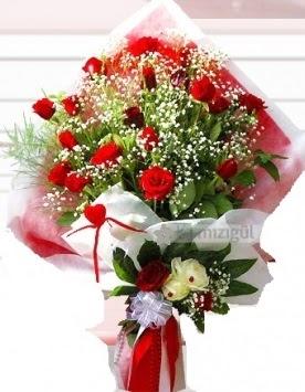 Kız isteme buketi çiçeği 41 güllü  Türkiye çiçek mağazası , çiçekçi adresleri