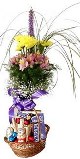 Türkiye online çiçek gönderme sipariş  Mevsim çiçekleri ve çikolata