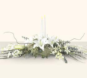 Türkiye internetten çiçek satışı  kazablanka mum tanzim