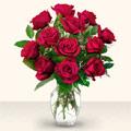 Türkiye güvenli kaliteli hızlı çiçek  10 adet gül cam yada mika vazo da