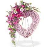 kalp içerisinde mevsim çiçekleri   Türkiye hediye çiçek yolla