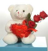 3 adetgül ve oyuncak   Türkiye çiçek online çiçek siparişi