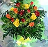 13 adet karisik gül buketi demeti   Türkiye çiçekçiler