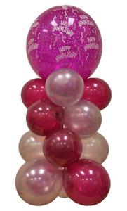 Sevdiklerinize 17 adet uçan balon demeti yollayin   Türkiye online çiçekçi , çiçek siparişi