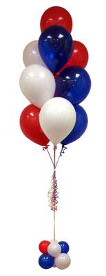 Sevdiklerinize 17 adet uçan balon demeti yollayin.    Türkiye İnternetten çiçek siparişi
