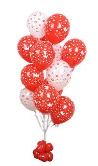 Sevdiklerinize 17 adet uçan balon demeti yollayin.  Türkiye çiçek satışı