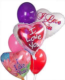 Türkiye çiçek satışı  Sevdiklerinize 17 adet uçan balon demeti yollayin.