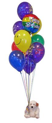 Türkiye online çiçekçi , çiçek siparişi  Sevdiklerinize 17 adet uçan balon demeti yollayin.