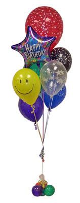Türkiye İnternetten çiçek siparişi  Sevdiklerinize 17 adet uçan balon demeti yollayin.