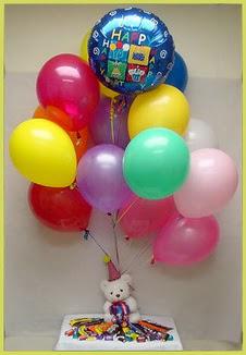 Türkiye çiçek gönderme  Sevdiklerinize 17 adet uçan balon demeti yollayin.