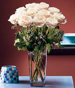 Türkiye online çiçek gönderme sipariş  Cam yada mika vazo içerisinde 12 gül