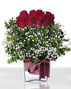 Türkiye İnternetten çiçek siparişi  11 adet gül mika yada cam - anneler günü seçimi -