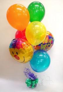 Türkiye çiçek mağazası , çiçekçi adresleri  17 adet uçan balon ve küçük kutuda çikolata