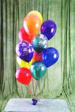 Türkiye çiçek siparişi sitesi  19 adet uçan balon demeti balonlar