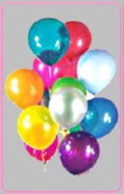 Türkiye çiçekçi mağazası  15 adet karisik renkte balonlar uçan balon