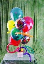 Türkiye anneler günü çiçek yolla  karisik görüntüde renkli uçan balon buketi