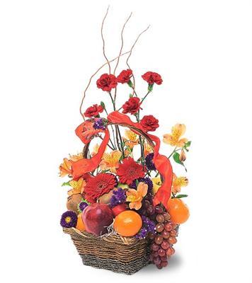 Özel Meyva sepeti ve çiçekler sevdiklerinizi simartin  Türkiye ucuz çiçek gönder