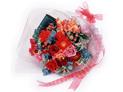 Karisik buket çiçek modeli sevilenlere  Türkiye çiçekçiler