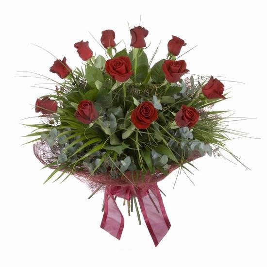 Etkileyici buket 11 adet kirmizi gül buketi  Türkiye çiçek satışı