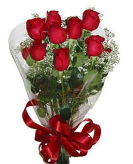 Çiçek sade gül buketi 7 güllü buket  Türkiye çiçekçi mağazası
