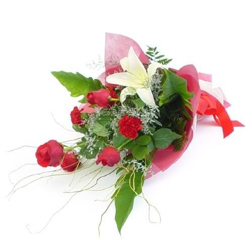 Mevsim çiçeklerinden karisik buket  Türkiye çiçek siparişi sitesi