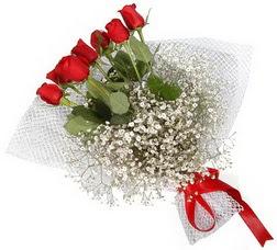 7 adet kirmizimi kirmizi gül buketi  Türkiye online çiçek gönderme sipariş