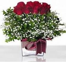 Türkiye çiçek satışı  mika yada cam vazo içerisinde 7 adet gül