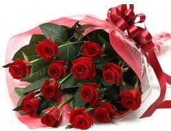 Türkiye çiçek siparişi vermek  10 adet kipkirmizi güllerden buket tanzimi