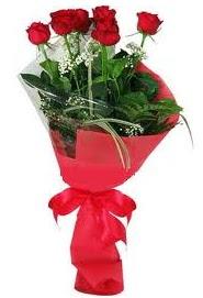 Çiçek yolla sitesinden 7 adet kırmızı gül  Türkiye çiçek satışı