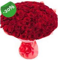 Özel mi Özel buket 101 adet kırmızı gül  Türkiye çiçek siparişi vermek