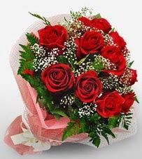 12 adet kırmızı güllerden kaliteli gül  Türkiye hediye çiçek yolla