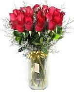 27 adet vazo içerisinde kırmızı gül  Türkiye çiçek mağazası , çiçekçi adresleri