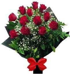 11 adet kırmızı gülden buket  Türkiye online çiçekçi , çiçek siparişi