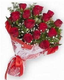 11 kırmızı gülden buket  Türkiye anneler günü çiçek yolla