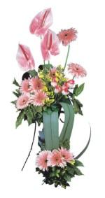 Türkiye anneler günü çiçek yolla  Pembe Antoryum Harikalar Rüyasi