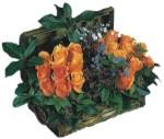 Türkiye ucuz çiçek gönder  Oranj kaliteli bir gül sandigi