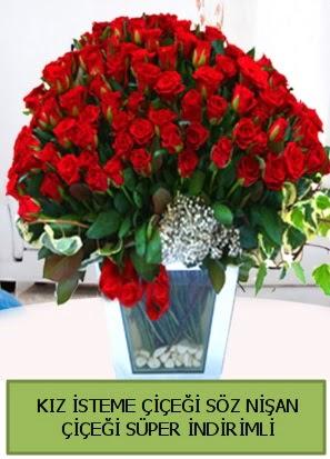 Söz nişan kız isteme çiçeği 71 gülden  Türkiye çiçek mağazası , çiçekçi adresleri