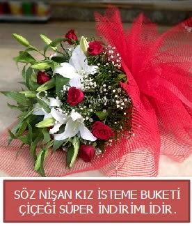 Söz nişan kız isteme buketi  Türkiye online çiçekçi , çiçek siparişi