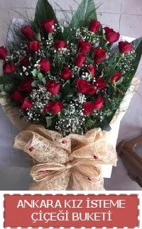 Kız isteme çiçeği kız isteme buket modeli  Türkiye ucuz çiçek gönder