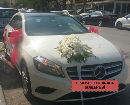 Araba süslemesi gelin arabası süsleme modeli  Türkiye çiçek yolla , çiçek gönder , çiçekçi
