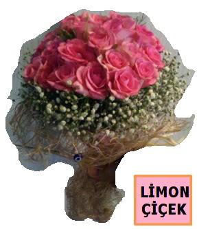 Pembe gül kız isteme söz nişan çiçeği  Türkiye yurtiçi ve yurtdışı çiçek siparişi