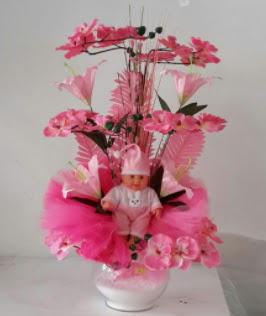 Pembe cam bebekli bebek doğum çiçeği  Türkiye çiçek yolla , çiçek gönder , çiçekçi