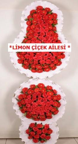 3 katlı kırmızı düğün açılış çiçeği  Türkiye yurtiçi ve yurtdışı çiçek siparişi
