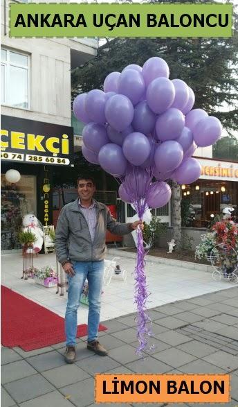 Ankara 50 adet istenilen renkte uçan balon  Türkiye çiçek gönderme sitemiz güvenlidir
