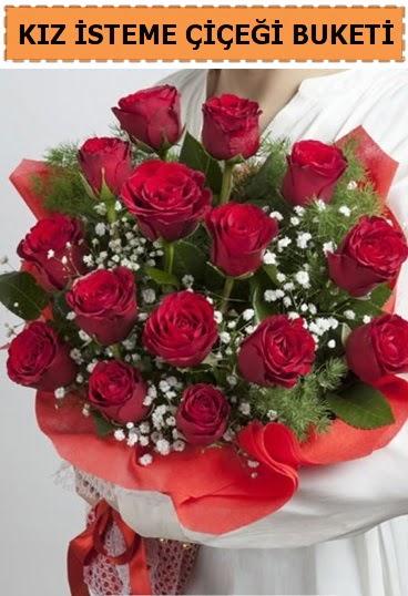 Kız isteme buketi çiçeği 17 gül  Türkiye online çiçekçi , çiçek siparişi