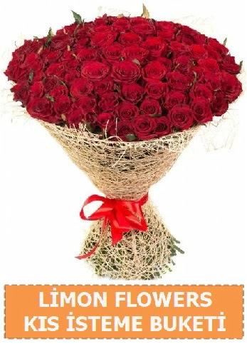 Kız isteme çiçeği modeli 61 adet gül  Türkiye yurtiçi ve yurtdışı çiçek siparişi