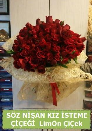51 adet güllü Söz nişan kız isteme çiçeği  Türkiye çiçek gönderme sitemiz güvenlidir