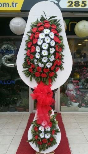 Yapay gerbera çiçeklerinden çift katlı çiçek  Türkiye online çiçekçi , çiçek siparişi