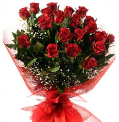 Kız isteme buketi çiçeği sade 27 adet gül  Türkiye kaliteli taze ve ucuz çiçekler